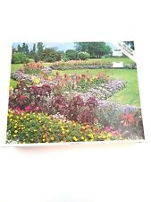 Vintage Whitman Jigsaw Puzzle 1000 Pieces New/Old Stock Floral Gardens #4777