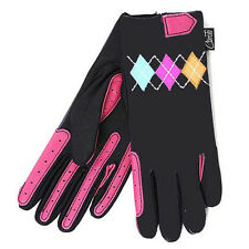 Children's Riding Gloves - Carrots Argyle (5-10yrs) - REDUCED Kids Equestrian