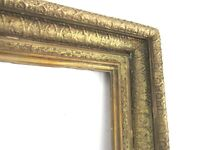 ANTIQUE  19 c  GREAT QUALITY GILT FRAME FOR PAINTING  28  x  22  (k-2)