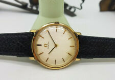 Gp Manual Wind Mid Size Watch Used Vintage 1965 Omega Champange Dial