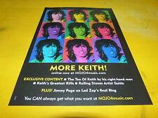KEITH RICHARD - More Keith !!! - Publicité / Advert !!!!!!!!!