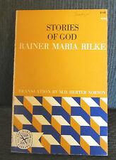 STORIES OF GOD RAINER MARIA RILKE FREE SHIPPING norton 1963 paperback book rare!