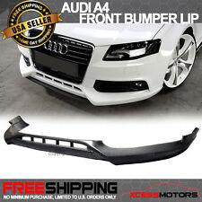09-12 Audi A4 B8 Poly-Urethane Front Bumper Lip Spoiler