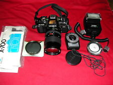 Minolta X-700 35mm Slr Film Camera with Rmc Tokina 28-70mm 1:4 Lens
