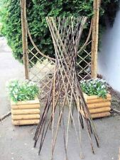 Master Garden Products Willow Funnel Trellis, 36-Inch
