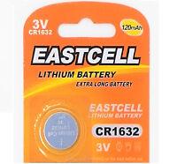 1 x CR1632 3V Lithium Batterie auf (1 Blistercard a 1 Stück ) EASTCELL