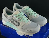 ASICS GEL LYTE III GLACIER GREY / ALUMINUM SIZE UK 6 EU 39.5 DS TRAINERS SHOES