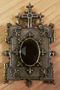 Alchemy Gothic Orthodox Icon Locket Pendant