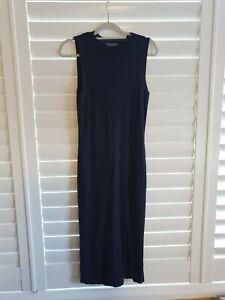 Navy Knit Dress Dorothy Perkins 12