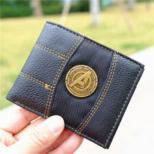 Marvel Metal Avengers Logo Wallet Cute Purse Holder Otaku Layers Bag 11cm