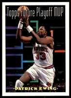 1993-94 Topps Patrick Ewing New York Knicks #200