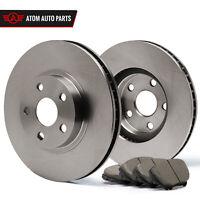 Rotors w//Ceramic Pads OE Brakes 2004-2013 Mazda 3  Mazda 5 Front