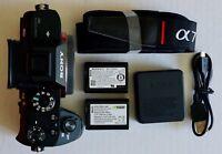 Sony Alpha a7R II 42.4 MP Digital Mirrorless Camera - Black (Body Only)