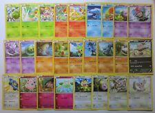 XY FATES COLLIDE - Complete 26 Common Pokemon Cards Set