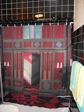 Suspiria Hotel Lobby Art Deco Shower Curtain Argento Horror Goth  Jessica Harper