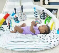 New Sassy Baby Tummy Time Reversible Milestone Activity Gym
