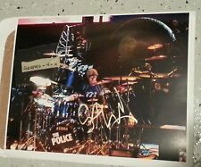 Stewart Copeland Signed The Police Autograph COA 11x14 a