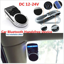 Solar Powered Speakerphone Wireless Bluetooth LCD Display Car Kit For Cell Phone