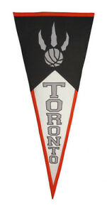 Vintage Toronto Raptors Classic NBA Wool Pennant WAY BIGGER & NICER THAN OTHERS