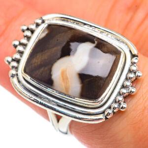 Peanut Wood Jasper 925 Sterling Silver Ring Size 6.75 Ana Co Jewelry R69312F