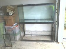 90 Gallon Fish Tank with 2 level iron stand. Room for another 75 gallon tank.