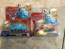 Disney Pixar cars Tokyo Mater & Dragon McQueen with Oil stains