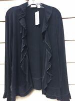 chicos size 3 jacket black