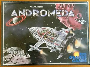 Andromeda - Rio Grande Games 1999 - Blisterato Sealed Shrinkwrapped