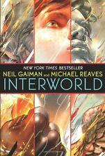 Complete Set Series Lot of 3 InterWorld books by Neil Gaiman,Reaves (Sci Fi) Ya