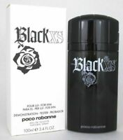 Tester Men Black XS by Paco Rabanne 3.3 / 3.4 oz EDT Cologne Brand New Spray