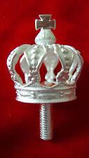 Versilberte Krone für Paradeadler Garde Du Corps oder Garde Kürassiere