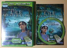 DVD Jeu Interactif RETOUR SUR L'ÎLE MYSTÉRIEUSE Jules Vernes Nobilis TV
