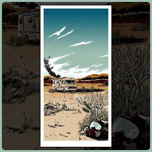"BREAKING BAD ""The Cook"" silkscreen print by artist Tim Doyle / Nakatomi"