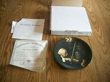 Norman Rockwell Collector Plate 1996 The Master Violinist Knowles Bradford
