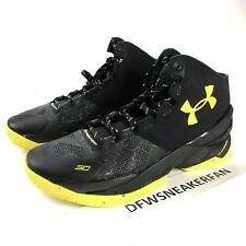 e4874e4343c Under Armour Curry 2 Batman Men s Size 14 Black Yellow B2B MVP 1259007 006  NEW