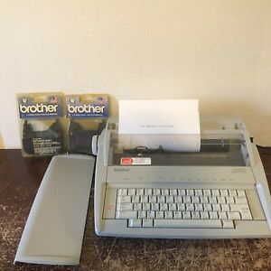 Vintage Brother Daisywheel Electronic Typewriter Gx6750 2 Cartridges