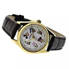RARE! New Womens Authentic Disney Mickey Donald Daisy Minnie Pluto Goofy Watch