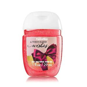 Bath and Body Works A Thousand Wishes PocketBac Anti-Bacterial Hand Gel
