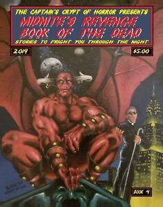 MIDNITE'S REVENGE-BOOK OF THE DEAD #4 ,ONE SHOT PRESS CREEPY HORROR W/FREE COMIC