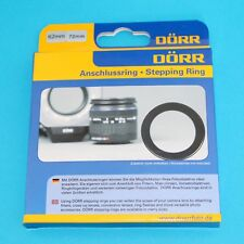 Dorr Stepping Ring 62-72mm Step Up RING
