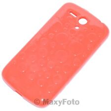 HUAWEI HARD COVER CUSTODIA ORIGINALE COLOR SHELL ASCEND G300 GLOSSY TOUCH ROSSO