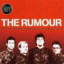 THE RUMOUR - NOT SO MUCH A RUMOUR, MORE A WAY OF LIFE (NEW) CD Graham Parker
