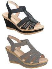 Wedge Wide (E) Plus Size Heels for Women