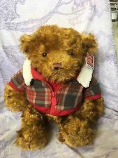 """Gund Teddy Bear Hagen 17"""" Mint With Tag"""