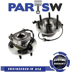 2 Pc New Suspension Kit for Cadillac Chevrolet & GMC Wheel Bearing Hub Assembly