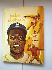 JACKIE ROBINSON Olsen Brooklyn Dodgers Baseball Memento 1974 VERY GOOD HC Illus.
