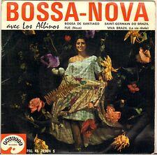 "LOS ALBINOS ""BOSSA DE SANTIAGO"" BOSSA NOVA 60'S EP PALETTE 22004"