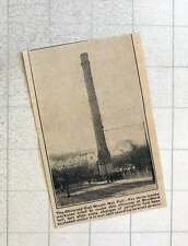 1923 Bradford Chimney Takes 3 Weeks And 60 Gelignite Sticks To Drop