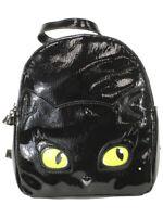 Betsey Johnson Women's Resting Kitsch Face Black Backpack Bag