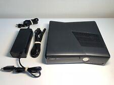New listing Microsoft Xbox 360 Slim 250Gb Black Console System W/ Cords -Tested